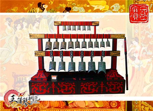 22件D型古12博12bet官网 小型演奏级 民乐团钟磬