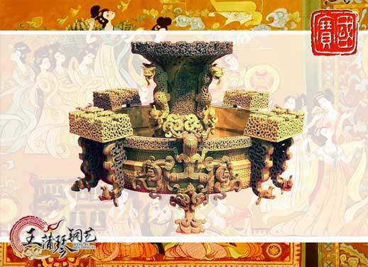 铜尊盘,12bet的网站是多少尊盘,国宝级文物之一