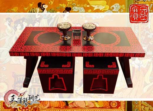 几案 漆案 漆凳 12bet的网站是多少漆案 汉代座椅 文化茶桌