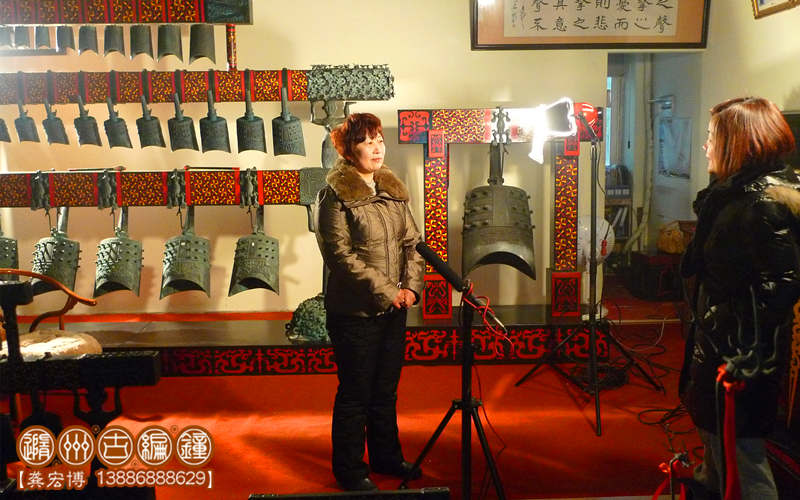 湖北卫视《中国NO1》栏目采访王蒲琴女士